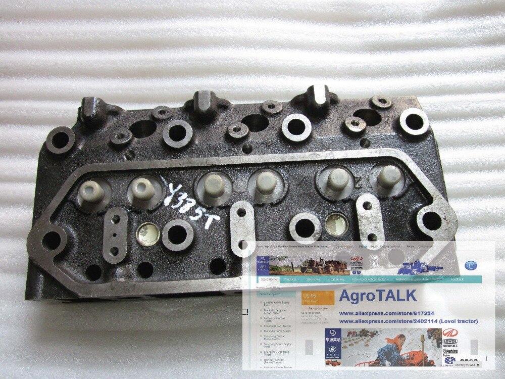 Culasse avec pièces nombre: Y385T-6-03101 pour Yangdong Y385T, la Chambre de turbulence type