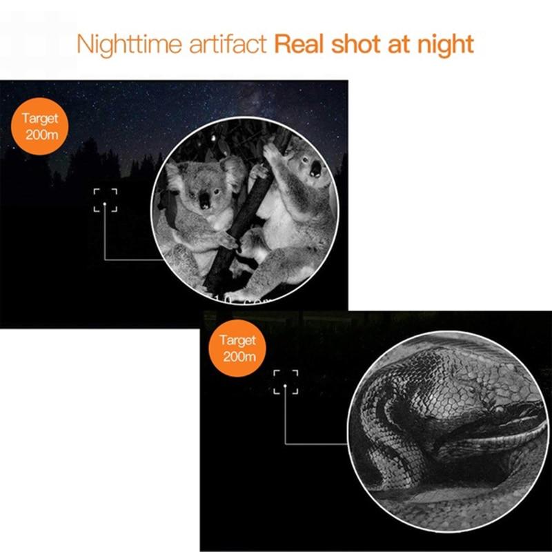 multi-função câmera para monitoramento de noite registro