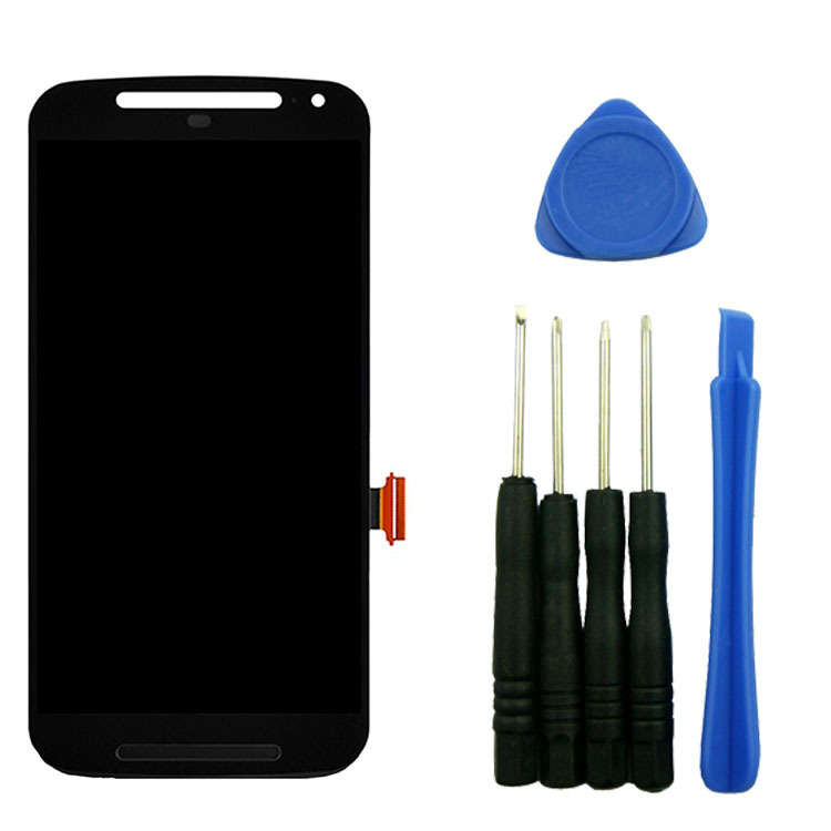 ФОТО For Motorola Moto G 2nd G2 Gen XT1063 LCD Screen Display Digitizer Touch Assembly Black Repair Part With Tools High Quality
