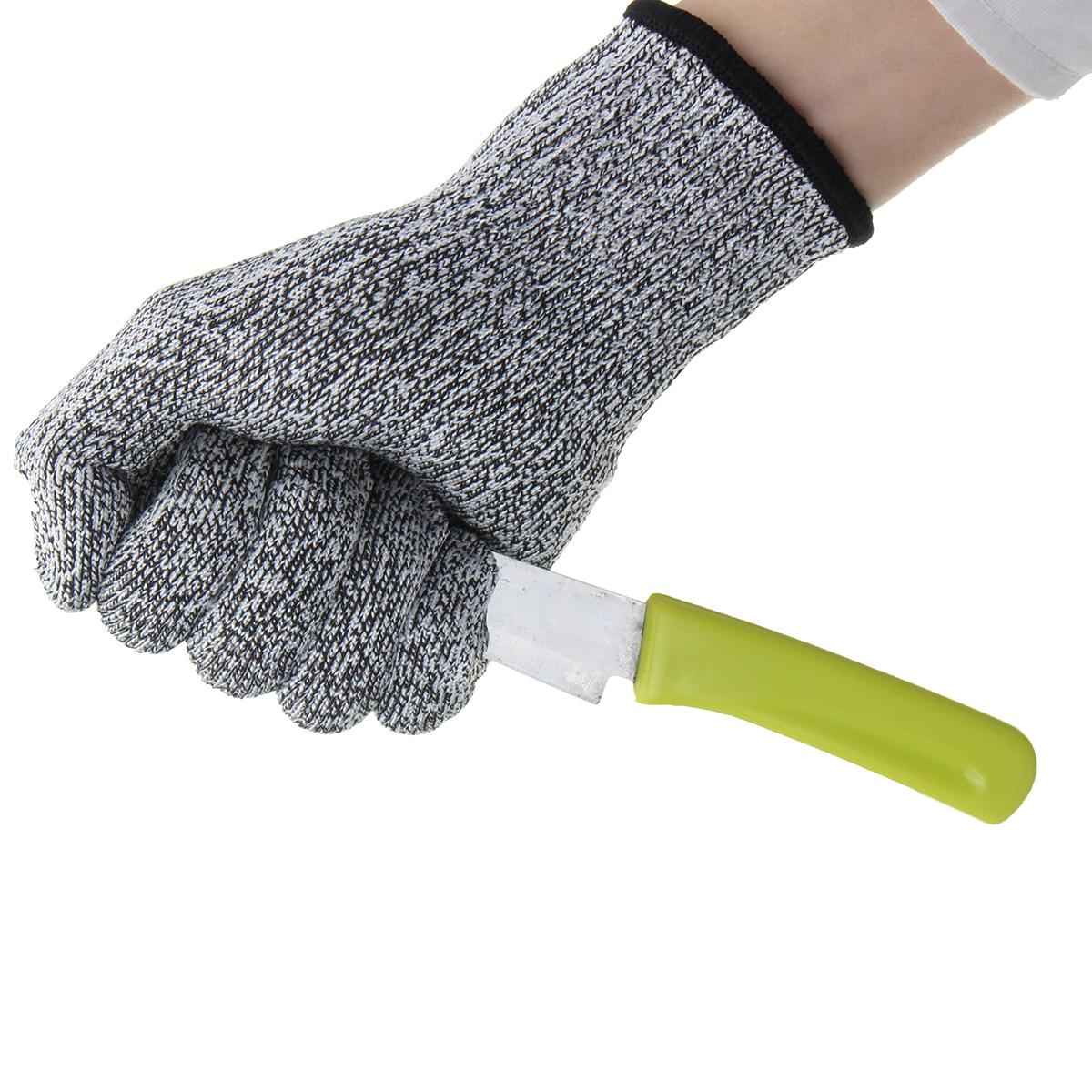 NEW Anti-Cutting Cut Resistant Gloves Food Grade Kitchen Butcher Protection -Level 5 Workplace Safety