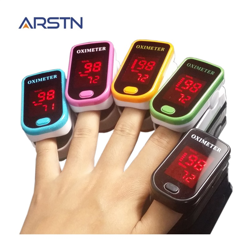 Fingertip Pulse Oximeter Oximetro Pulsioximetro Home Household Health Monitor Medical Finger Heart Rate Monitor Oxymeter CE