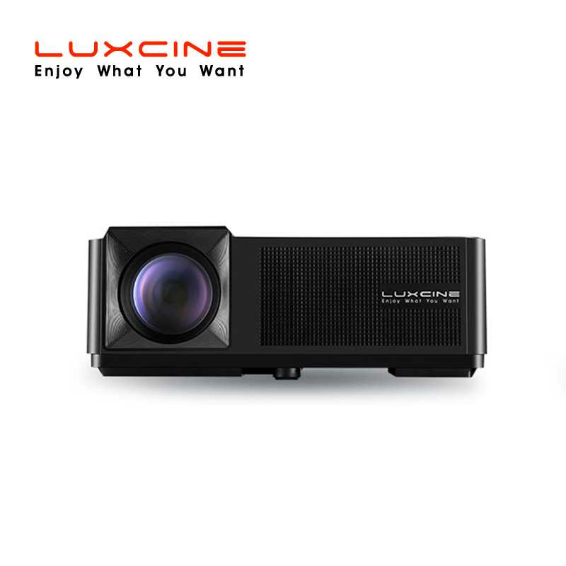 2018 New Home Projectors Theater Lcd 1080p Hd Multimedia: LUXCINE 2018 New Arrival Bright Basic LED LCD Music