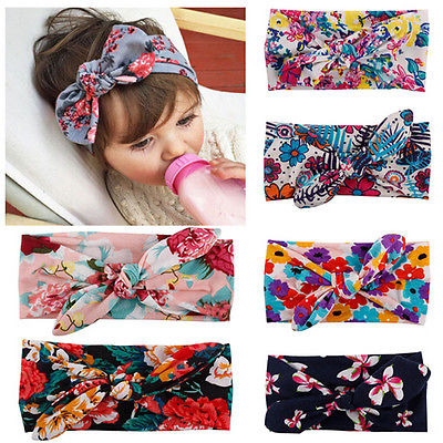 Kids Girl Baby Toddler Bow Headband Hair Band Accessories Headwear Head Wrap 1pc soft lovely kids girl cute star headband cotton headwear hairband headwear hair band accessories 0 3y hot