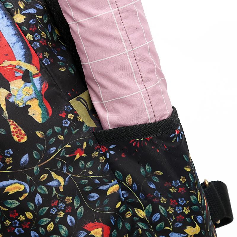 2019 New Women Emoji Shoulder Bag Best Travel Women Backpack Female Printing Waterproof School Knapsack mochila Bagpack Pack 17