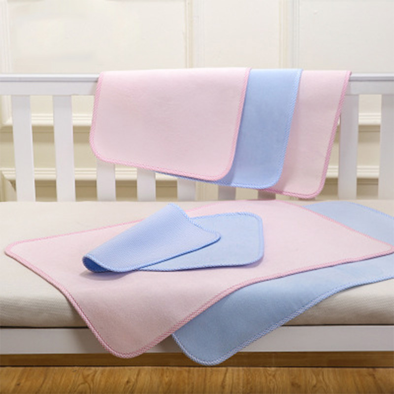 Baby Changing Mat Waterproof Pad Changing Pad Cover In The Bed Stroller Pink Blue Nappy Diaper Changing Mat For Newborns Baby