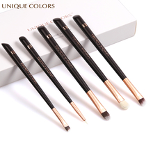 UNIQUE COLORS 5Pcs Eye Makeup Brush Set Eye Shadow Eyeliner Blush Eyebrow Blending Make Up Brushes Cosmetic Tool Soft Hair