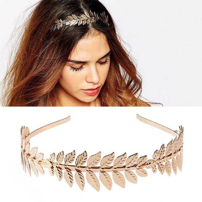 Women Vintage Goddess Olive Leaf Headband Headdress Hair Band Crown Wedding Chic 5kilos 176oz olive leaf extract 20