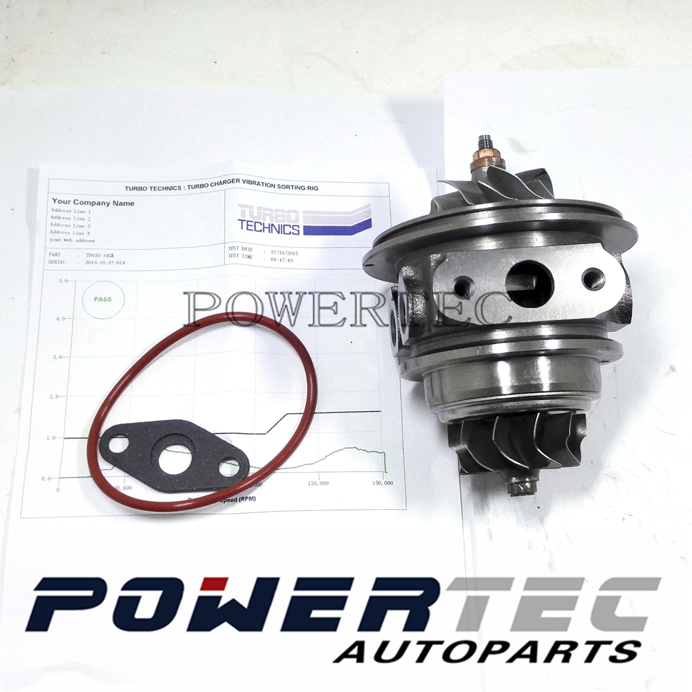 TF035 new turbo CHRA 49135-02910 49135-02920 turbine Cartridge for Mitsubishi Shogun Pajero Montero 3.2 L 4M42 TRITAN 3200 170HP цены