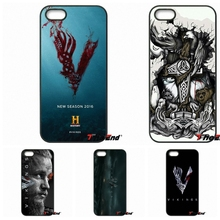 vikings Ragnar Vikings Season 3 TV Logo Phone Case For iPhone X 4 4S 5 5C SE 6 6S 7 8 Plus Galaxy J5 J3 A5 A3 2016 S5 S7 S6 Edge(China)