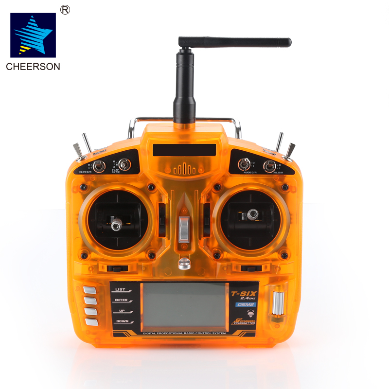Cheerson GL004 2.4GHz 6CH DSM2 Compatible Transmitter With Redcon CM703 DSM2 Receiver RC Controller for RC Drones Aircraft f09166 10 10pcs cx 20 007 receiver board for cheerson cx 20 cx20 rc quadcopter parts