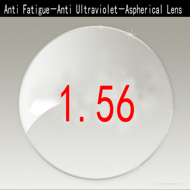 Anti Fatigue 1.56 Anti Ultraviolet Radiation Single Vision Lenses For Myopia / Hyperopia 1.56 Aspherical Lens