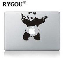"""RYGOU Laptop Sticker Kung ku Panda DIY Vinyl Decal Sticker for New Macbook 13"""" Sticker For Macbook Air Pro Retina 13 Laptop Skin"""