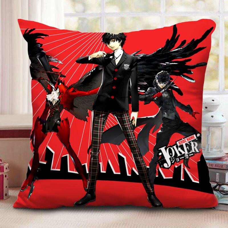 Persona 5 Akira Kurusu Square Pillow