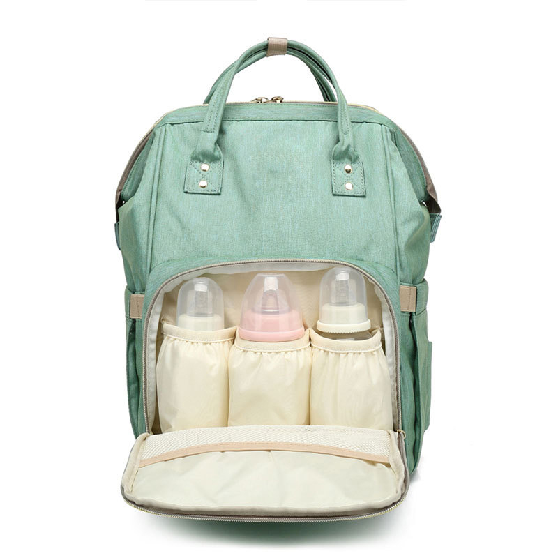 Baby Diaper Bag Mummy Travel Backpack Large Capacity Maternity Nappy Bags Nursing Bag For Baby Stroller Wet Bag цена