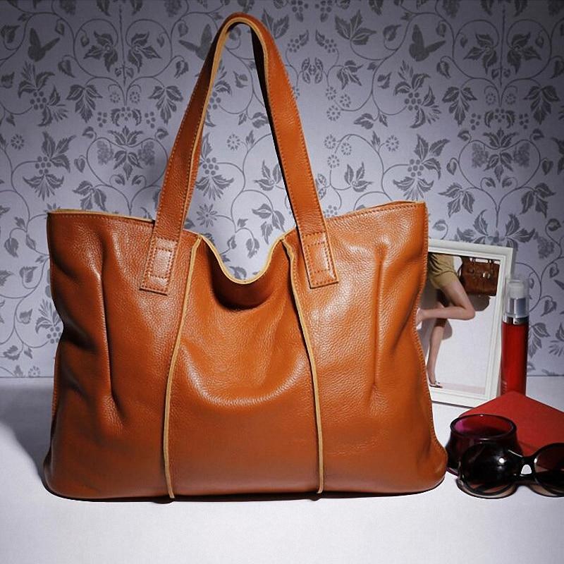 100 Genuine Leather Handbags Women Messenger Bag 2018 Ladies Shoulder Bag Designers Brand Tote Bag Female