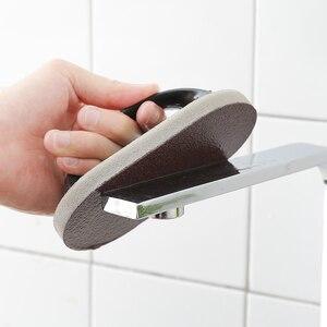 Image 4 - With handle Emery Magic Clean Sponge wipe Magic sponge wipe kitchen Decontamination cleaning brush bowl wash pot Bathroom