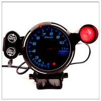 Calibre tacómetro Defi de 7 colores 0-11000  estilo BF de luz con cambio de revoluciones  indicador automático  medidor de saat de 72mm