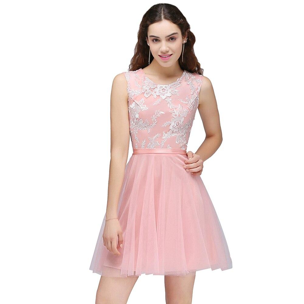 Elegant Mint Green O Neck Lace Tulle Bridesmaid Prom Dresses Long ...