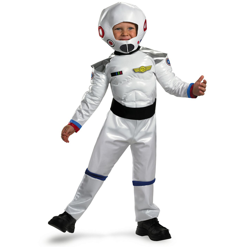2018 New Party Halloween Costume Toddler And Kids Blast Off Astronaut Spaceman Costume