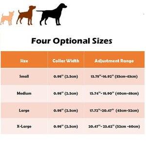 Image 5 - Led 개 목걸이 빛나는 애완 동물 제품 안전 위장 세련 된 깜박이 글로우 목걸이 애완 동물 액세서리