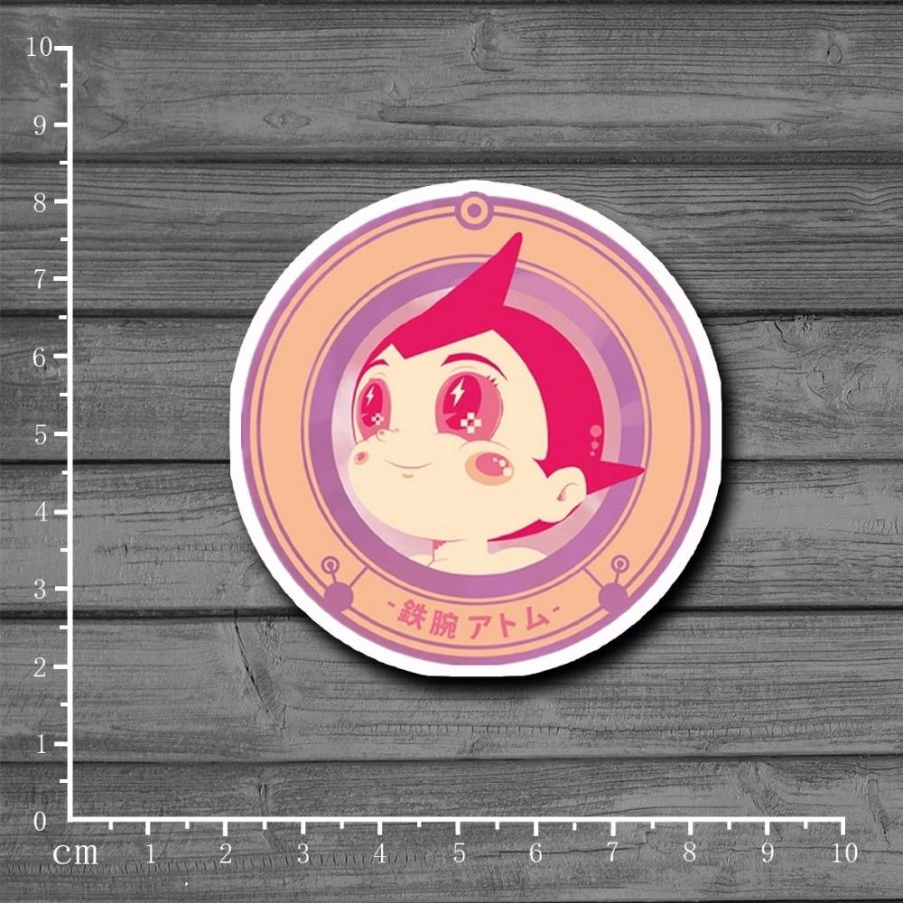 Astro Boy Cartoon Waterproof On Laptop Notebook Skateboard Suitcase Kids Toys Stationery Stickers Tide Brand Stickers[Single]