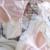 Mousse de Luxo Com Decote Em V Profundo Sexy Sutiã de renda Conjunto de roupa interior das mulheres Lingerie sexy 3/4 xícara de cuecas de seda para as mulheres livre grátis