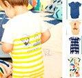 COMERCIO AL POR MAYOR 2016 DEL otoño DEL BEBÉ ropa de BEBÉ ROPA de LA MUCHACHA BOBO CHOSES kikikids mamelucos del bebé embroma la ropa de moda vetement bebe