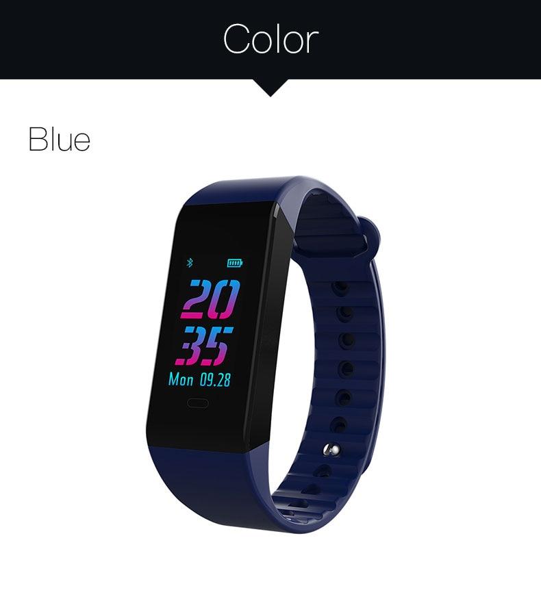 Smart bracelet blood pressure heartrate W6S (17)