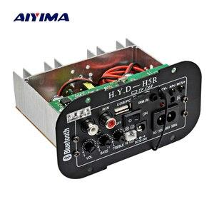 Image 2 - AIYIMA placa amplificadora para Subwoofer, amplificador de Audio Bluetooth para coche, 12V, 24V, 220V, para altavoces de 5 8 pulgadas, bricolaje