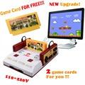 Nova atualização subor d99 nostálgico família original tv consolas de jogos de vídeo game console player com frete 500 jogos de cartão