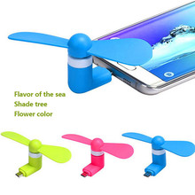 Removable Android Mini OTG 5Pin USB Fan Portable USB Phone Fan Socket OTG Dock for Samsung Xiaomi Android Phone USB Ventilador