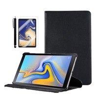 Składany otwierany futerał ze stojakiem do tabletu Samsung Galaxy Tab A 2018 10.5 cala SM T590(Wi Fi) / SM T595(LTE) z automatyczne uśpienie/wybudzenie|Obudowy na tablety i czytniki|Komputer i biuro -