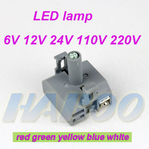 10pcs packing lamp holder only for HABOO 22mm LED switch like H22/25 series l22 series J22 series