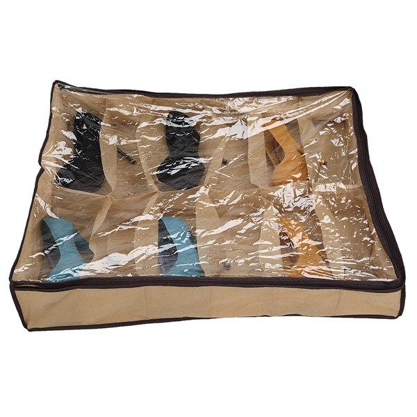 Foldable Shoes Storage Bag Box Rack Underbed Organizers Closet Wardrobe  Storage Tools Accessories Sundries Holder 24