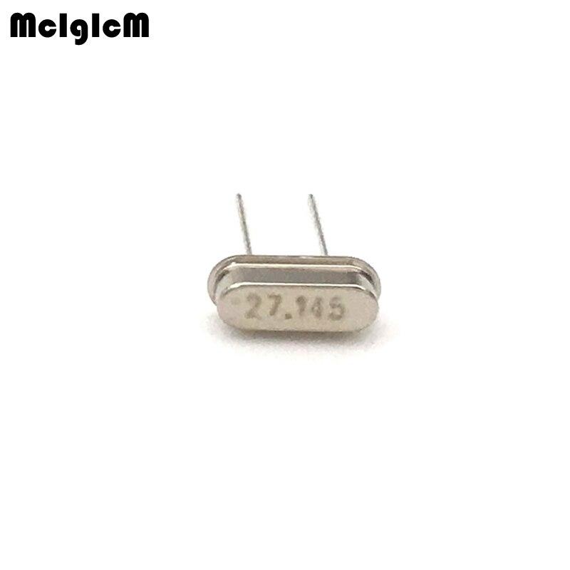 1000pcs hc 49s 27 145MHz 20ppm 20pF quartz resonator