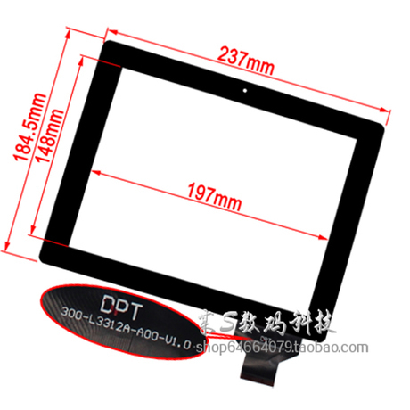 New 9.7 Mediox MID9742 Coby Kyros MID9742 Tablet touch screen panel Digitizer Glass Sensor replacement PC Free Shipping набор бокалов luminarc набор фужеров authentic black luminarc 310мл 3 шт
