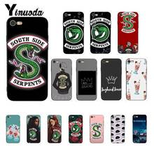 Yinuoda Riverdale South Side Serpents Painted Phone Case for iPhone 8 7 6 6S 6Plus X XS MAX 5 5S SE XR Fundas Capa 11 pro max