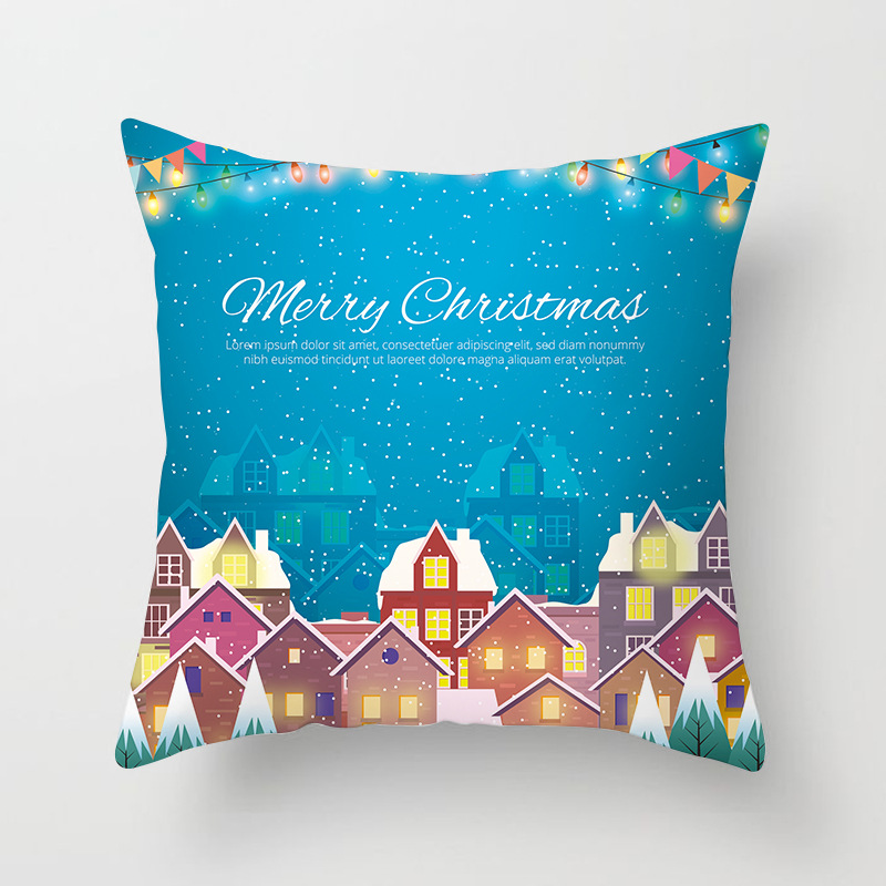 Merry Christmas Decorations For Home Decoration Noel 2018 Christmas Ornaments Christmas 2018 Decor Pillow Case Gifts Xmas Decor  (11)