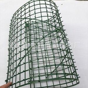 Image 1 - 10 stks/set Kunstmatige Bloem Muur Plastic Panel Houder Rack Voor DIY Bruiloft Bloem Foral Achtergrond Bloem Accessoires YYY9959