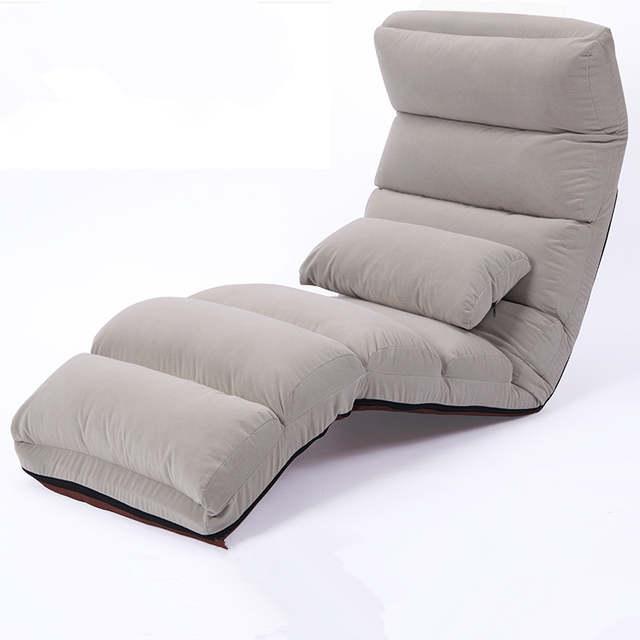 US $103.2 20% OFF|Boden Klapp Chaiselongue Stuhl Moderne Mode 6 Farbe  Wohnzimmer Komfort Daybed Faul Liege Polster Sleeper Sofa Bett-in Chaise  Lounge ...