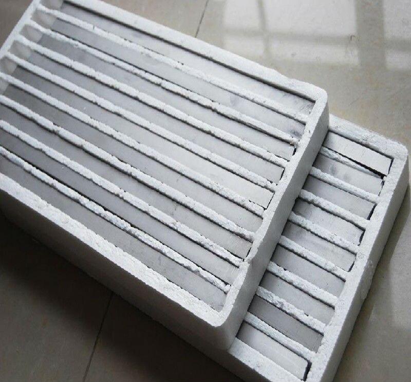 Tiges de tungstène carré aiguille de tungstène de haute pureté W électrode de tungstène bâton de barre