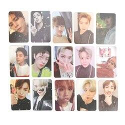 Новое поступление карт Kpop многоцветная версия 2018 бумага для эмпатии самодельный фото постер NCT U 127 карта автограф Фотокарта