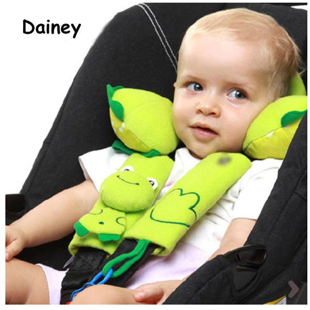 Baby Car Seat Safety Belt Strap Cover Cushion Infant Stroller Accessories Pushchair Pad CPJ15