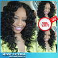 High Quality Synthetic Lace Front Wig Freetress Hair Kinky Curly Long Bob Wig Lace Front Synthetic Wig For Black Women In Stock