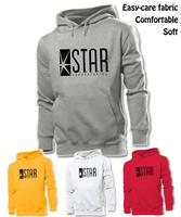 STAR Laboratories The Flash DC Comics S.T.A.R. Labs Graphic Hoodie Men's Boy's Women's Girl's Sweatshirt White Red Yellow Grey