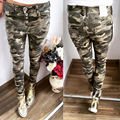 Women's Candy Pants Pencil Trousers 2016 Spring Fall Stretch Pants For Women Slim Ladies Jean Trousers Female