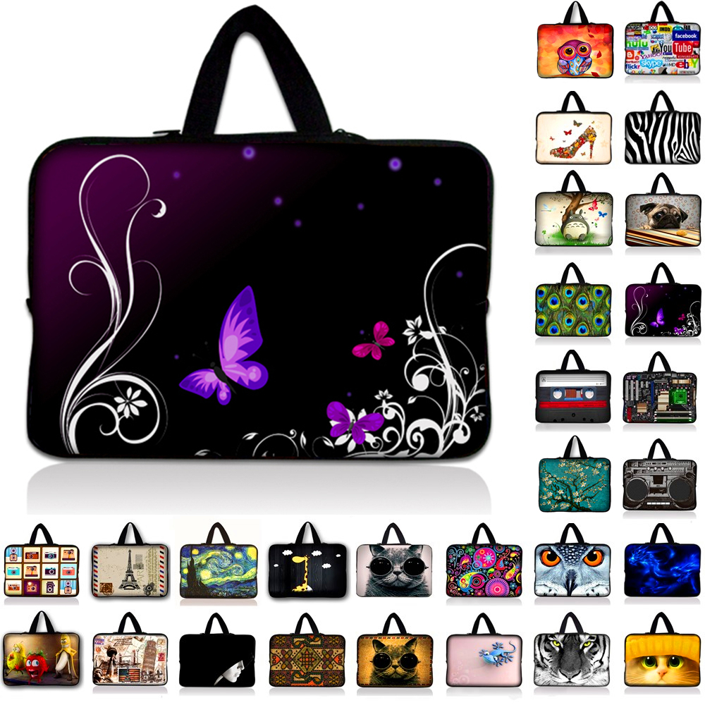 10\'\' Fashion Soft Laptop Sleeve Bag Carry Tablet Case For Ipad 7 6 5 4 3 2 For 10.1