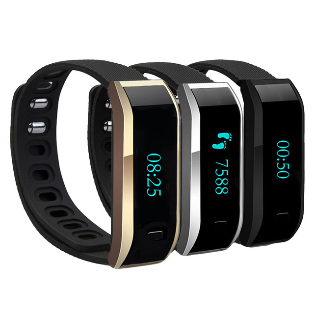 Bluetooth Smart Wristband Passometer Pedometer Message Call Reminder Sleep Tracker Smartband Bracelet for Android System