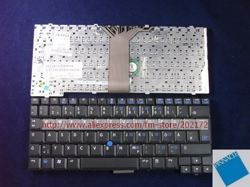 Brand New Black Laptop Notebook Keyboard 383458-041 PK13AU001F0 For HP Compaq NC4200 TC4200 series (Germany)