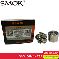 SMOK TFV8 X Baby RBA Coils Head 0 35ohm Dual Coils Tank Atomizer RBA Coil Pk